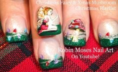 Christmas Fairy Nail Design4