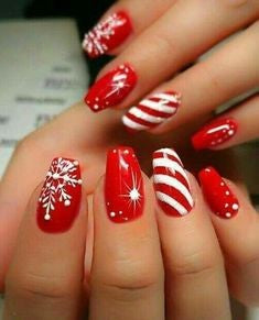 Creative Nail Designs For Christmas2