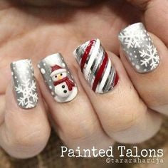 Creative Nail Designs For Christmas3