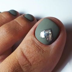 Heart 3D Sticker Toe Nail Designs