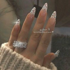 Jewelry Stiletto Nail Designs