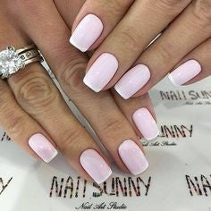 Pink Polish Gel French Manicure