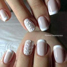 Pattern French Nail Design
