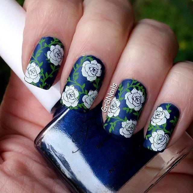66+ Best Valentine's Day Nails Designs for 2018-pic49