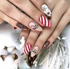 Festive Atmosphere Nail Design