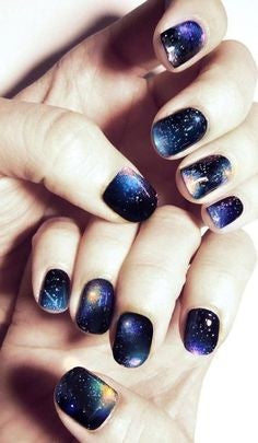 Starry sky Nail Design
