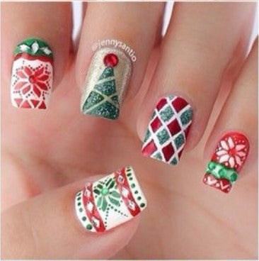 Christmas Nail Art Design-1