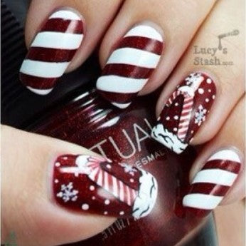 Christmas Nail Art Design-3