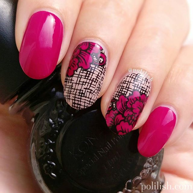 66+ Best Valentine's Day Nails Designs for 2018-pic5 - 60+ Best Valentine's Day Nails Designs For 2018 BeautyBigBang