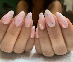 Classic Rounded Tips Princess Nail Design
