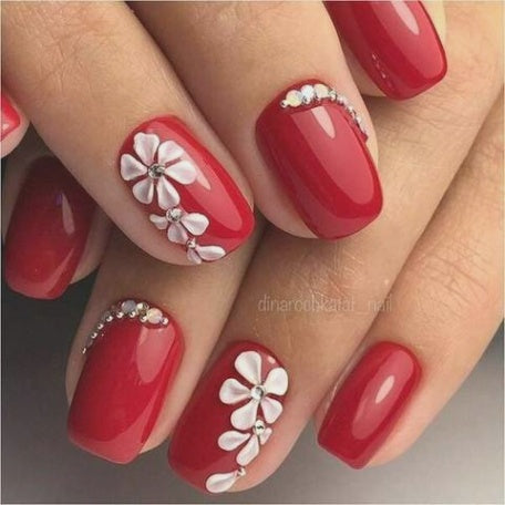 top 100 spring floral nail designs for 2019  beautybigbang