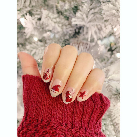 This Ornament Christmas Nail Design