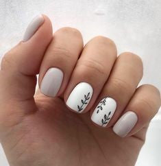 Simple Winter Nail Designs
