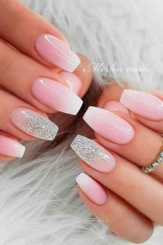 Ombre Pink Nail Design