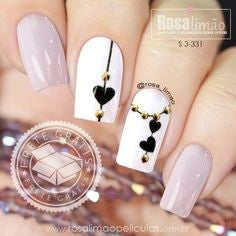Jewelry Nail Design for Valentine's Day
