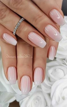 Gel Nude Nail Design