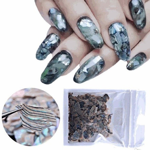 Abalone Shell Nail Sequins For Decoration