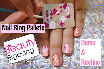 Nail Art Palette Ring