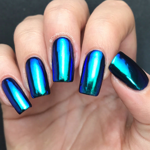 Unicorn Pigment Mermaid Chrome Blue