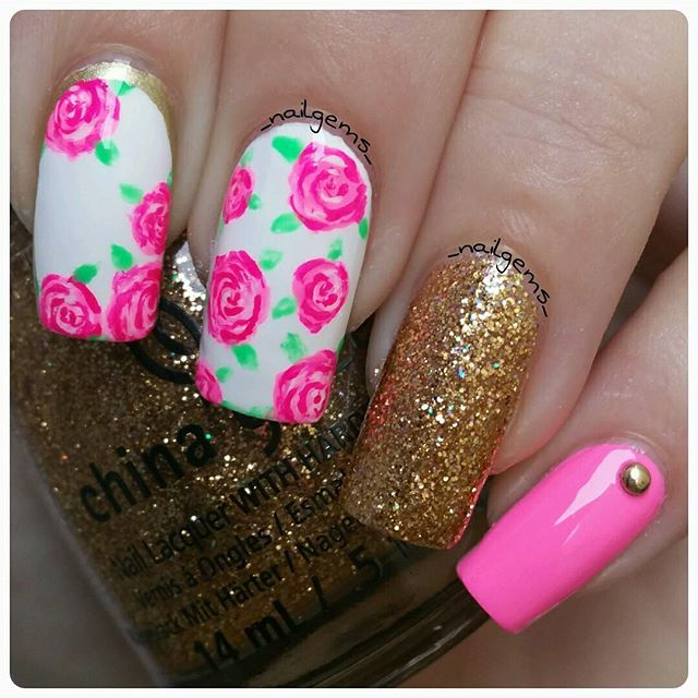 66+ Best Valentine's Day Nails Designs for 2018-pic44