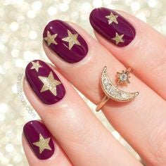 Super Star Oval Nail Design