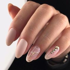 Oval Nails-Timeless Classic