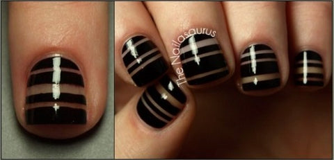 Simple Striped Tape Nail Tutorial3