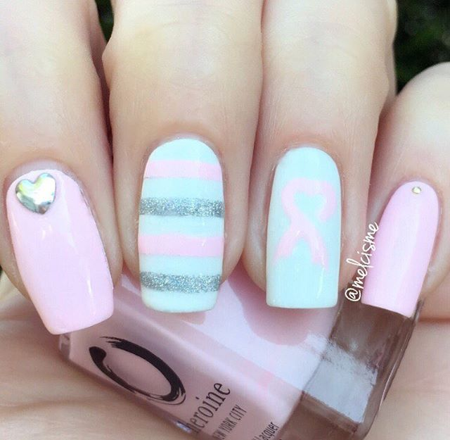 66+ Best Valentine's Day Nails Designs for 2018-pic55