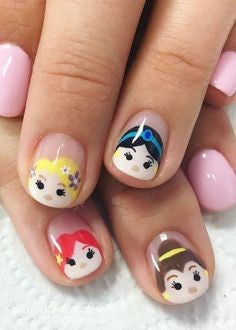 Cute princess Nail Design