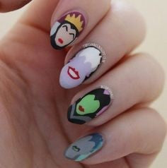 Various queens Nail Design