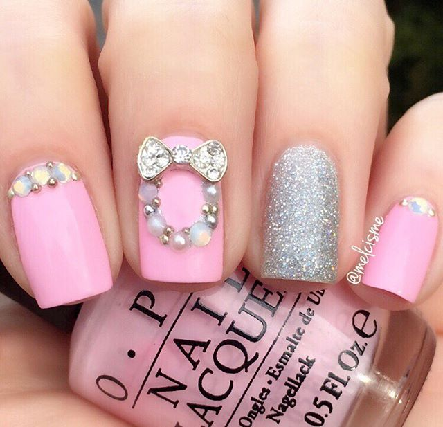 60+ Best Valentine's Day Nails Designs for 2018-pic60