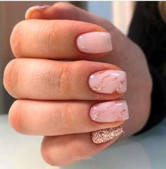Pink Summer Nail Color Idea