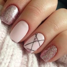 White Summer Nail Color Idea