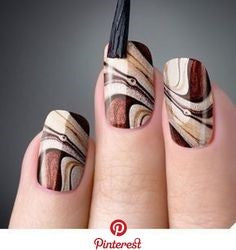 Nail transformation like the pattern of trees