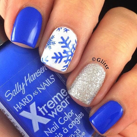 cute winter nail art design-4