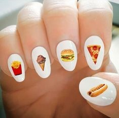 Fast food Nail Design