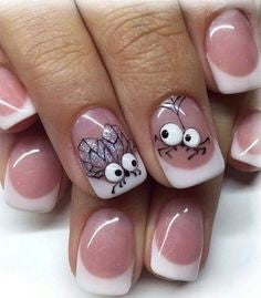 Cute Eye Stickers insect Nail Art Design