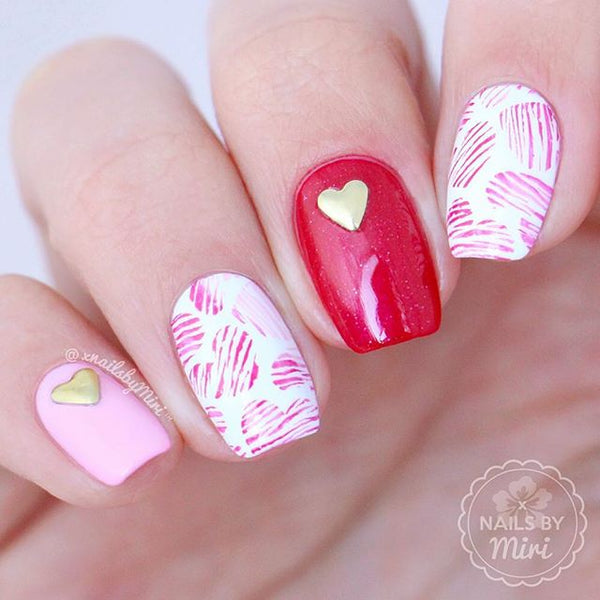 60+ Best Valentine\'s Day Nails Designs for 2018 | BeautyBigBang
