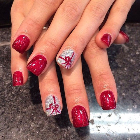christmas cute nail art-4