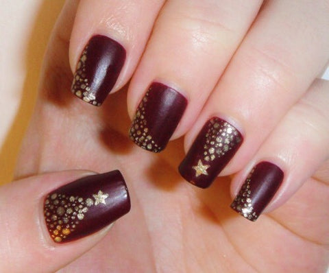 christmas cute nail art-