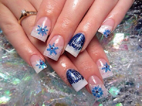 christmas cute nail art-10