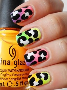 Leopard Nail Art Idea-1