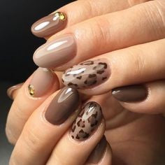 Leopard Nail Art Idea-4
