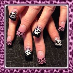 Leopard Nail Art Idea-5