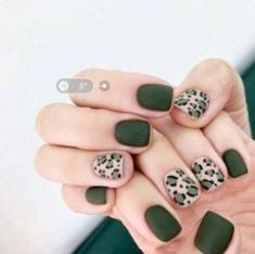 Leopard Nail Art Idea-6