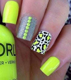 Leopard Nail Art Idea-12