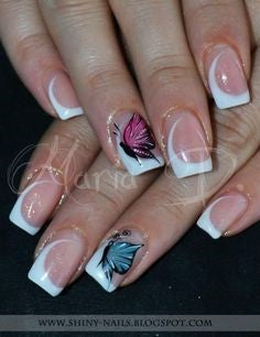 French Nail Design-8