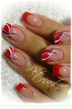 French Nail Design-13