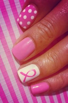 Cancer Nail Design