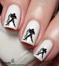 Aquarius Nail Design